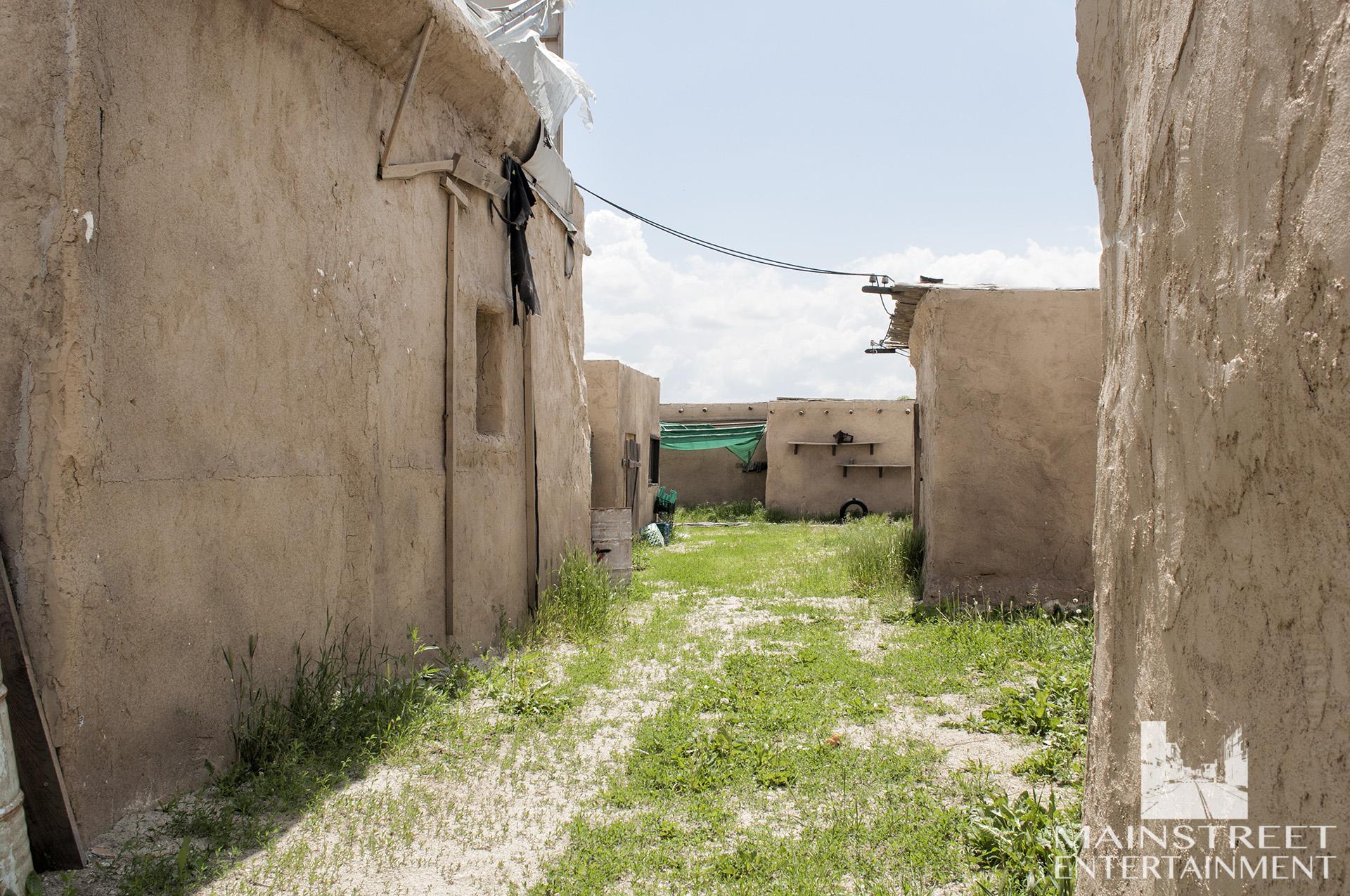 middle east desert village set