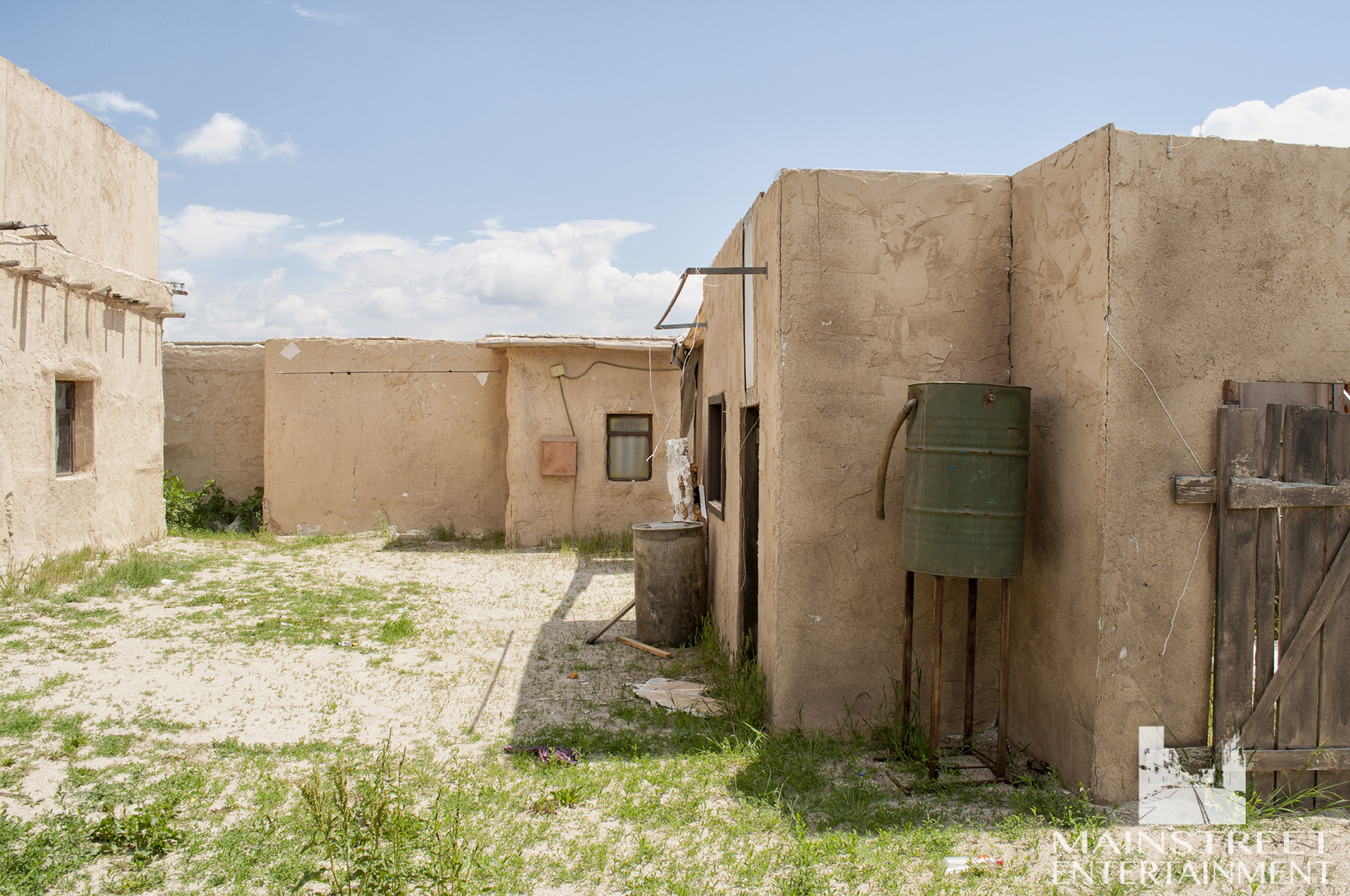afghan village backlot