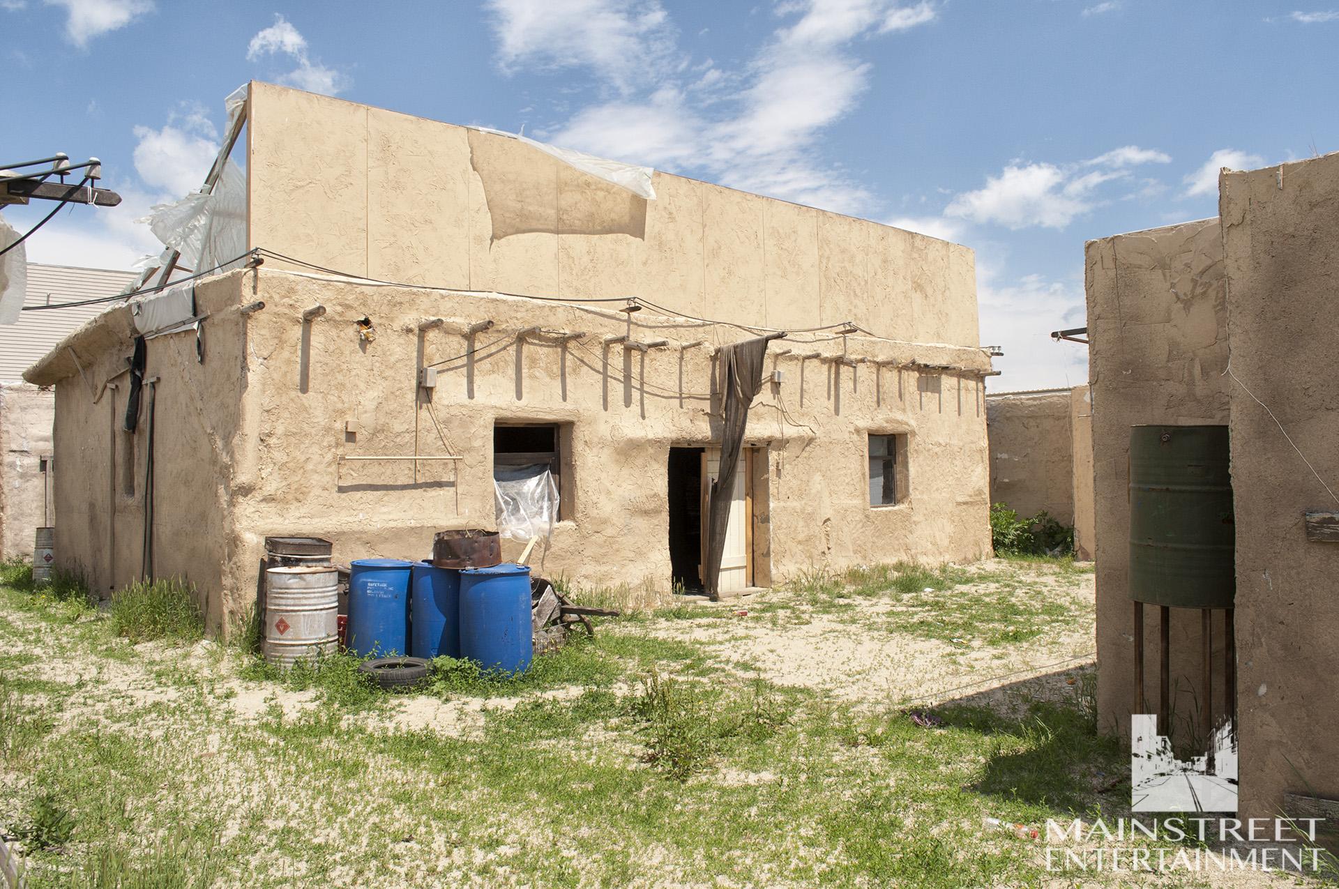 mexican village set