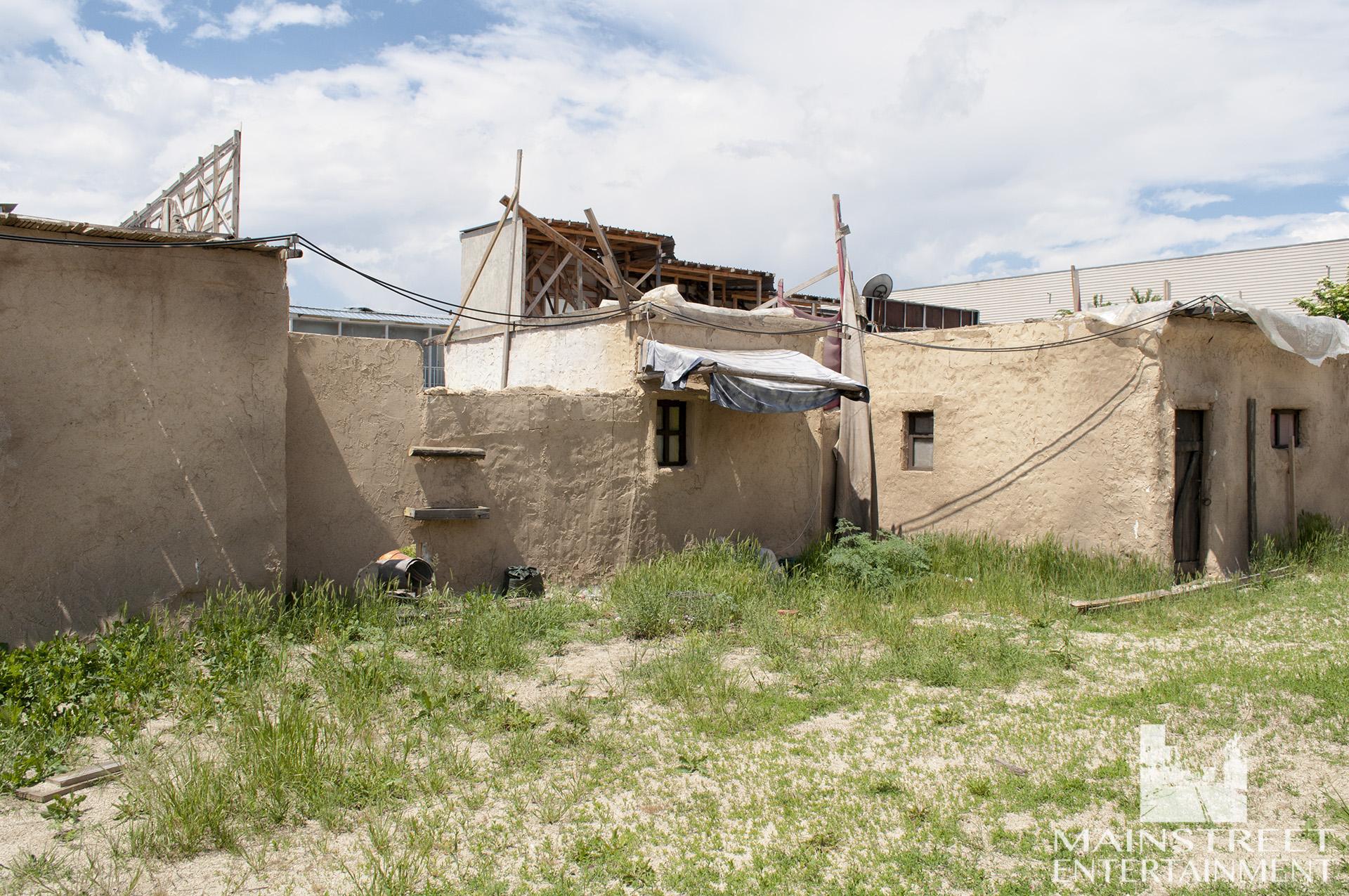 Desert village set