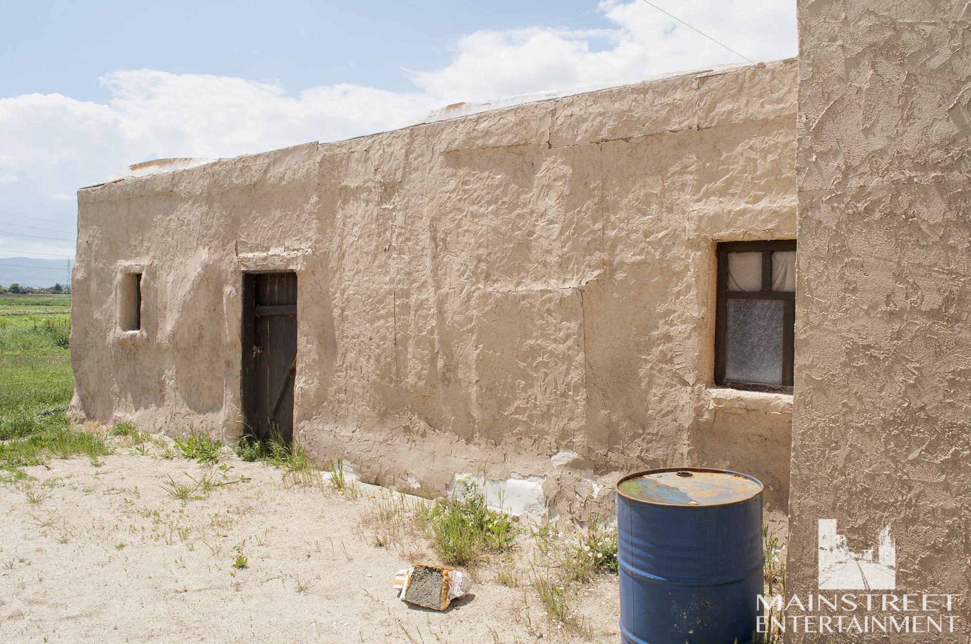 iraqi village film set