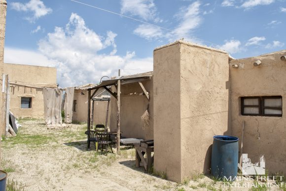 mexican village movie set