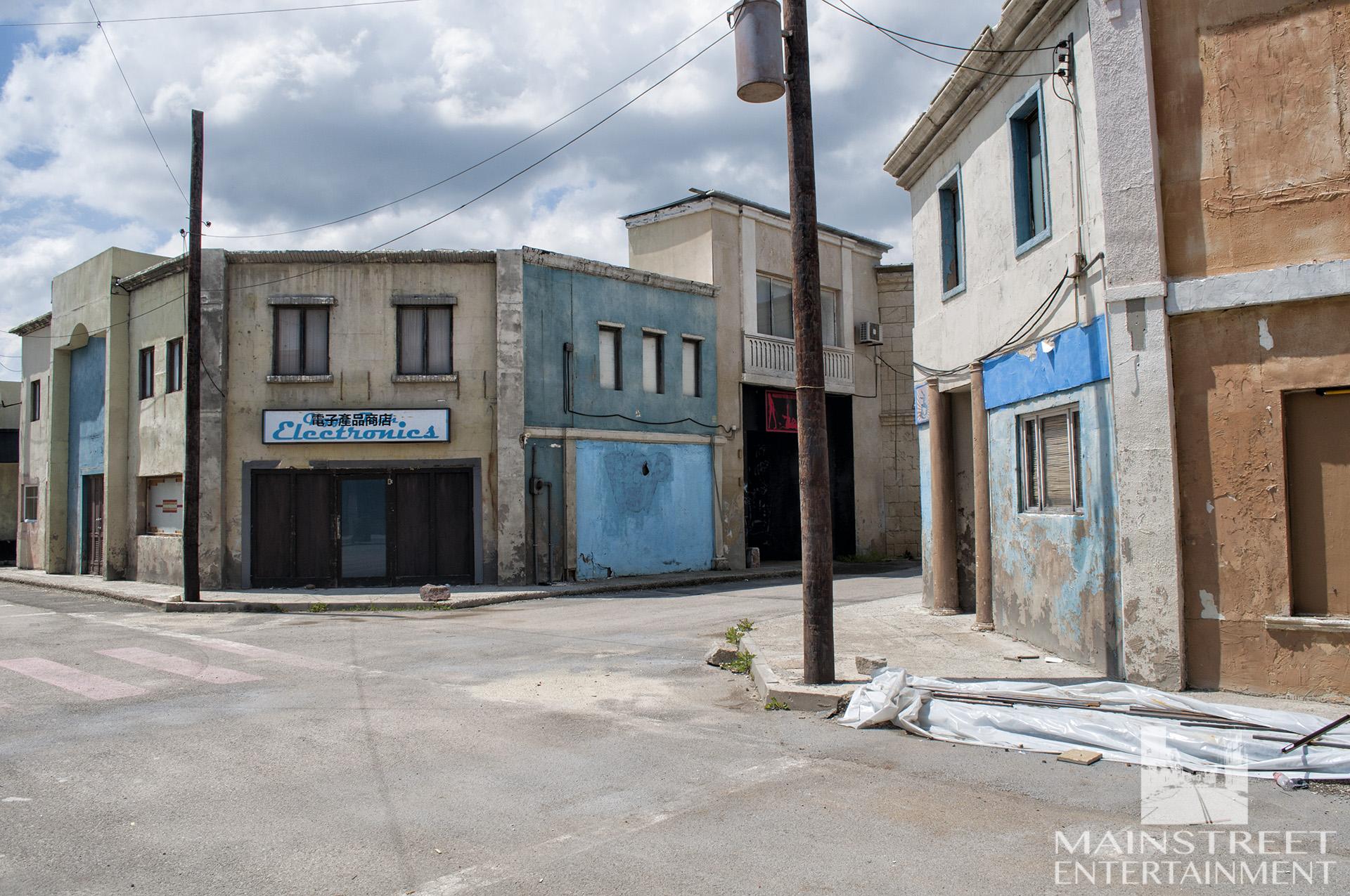 southern us town set