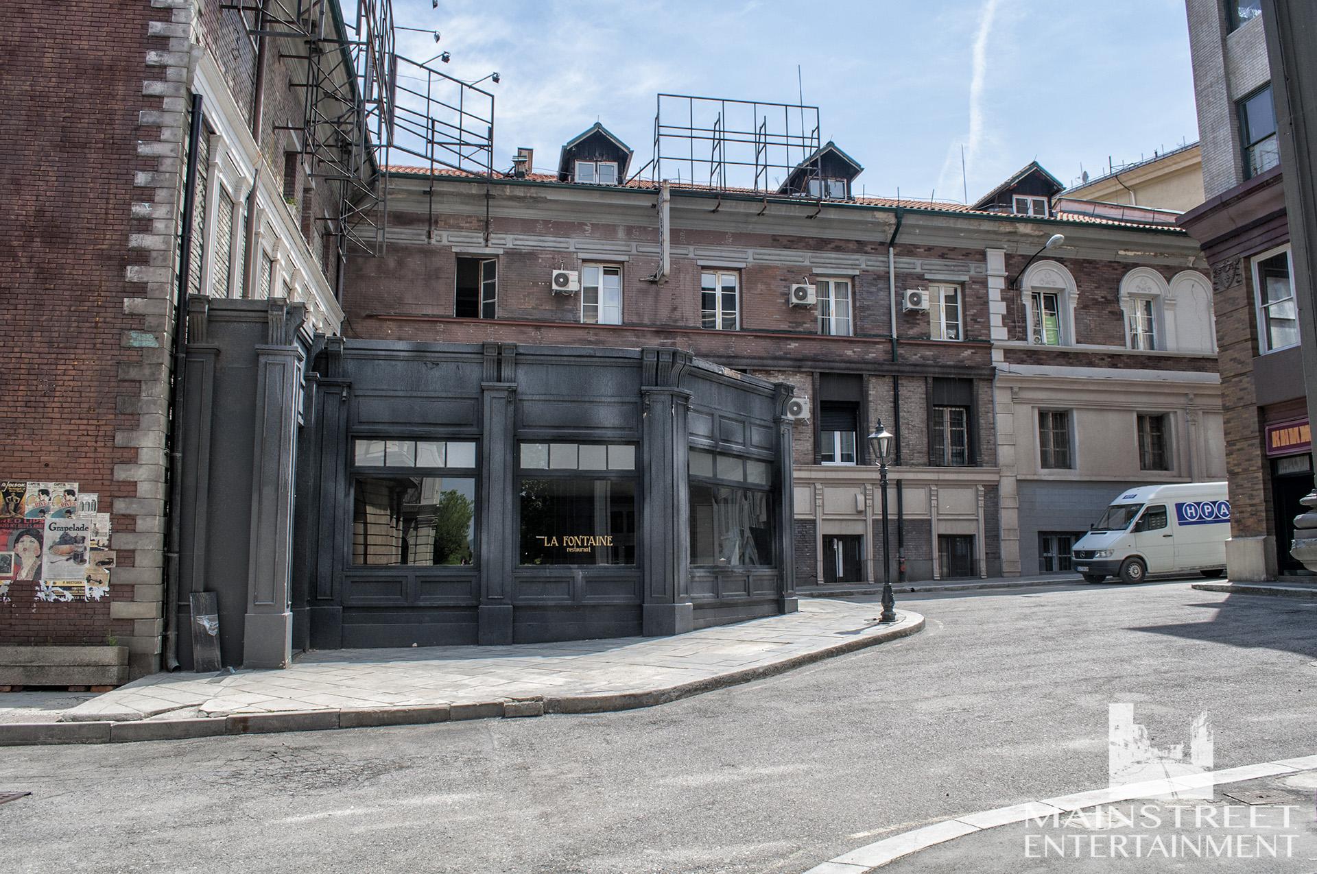 London pub film set