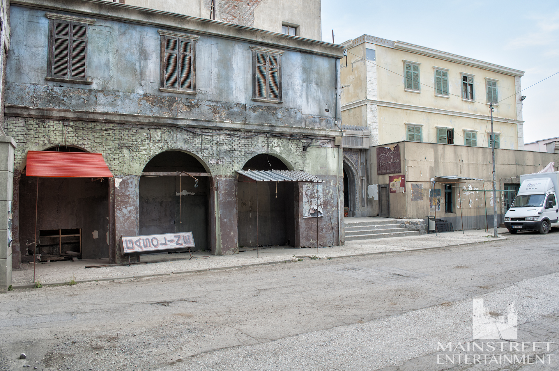 Middle eastern streets set