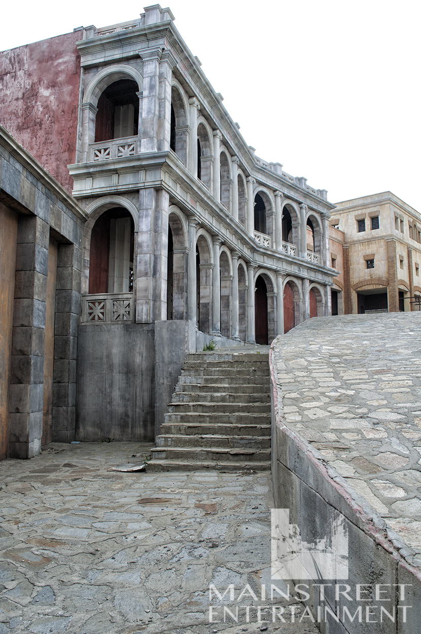 Ancient Rome movie location backlot