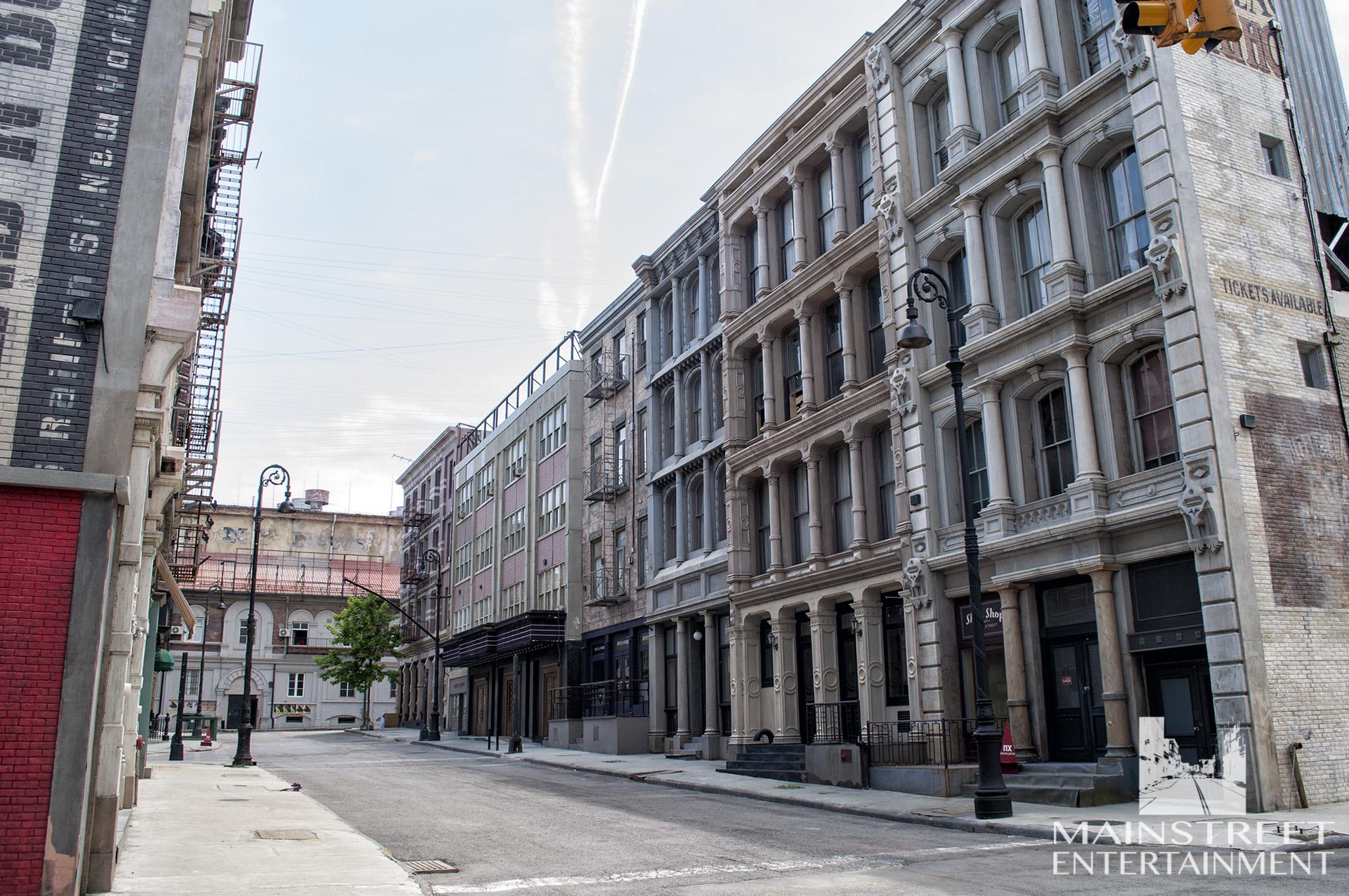 New York street backlot