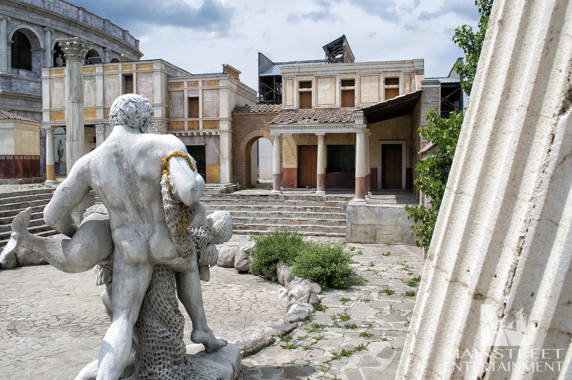Roman film set