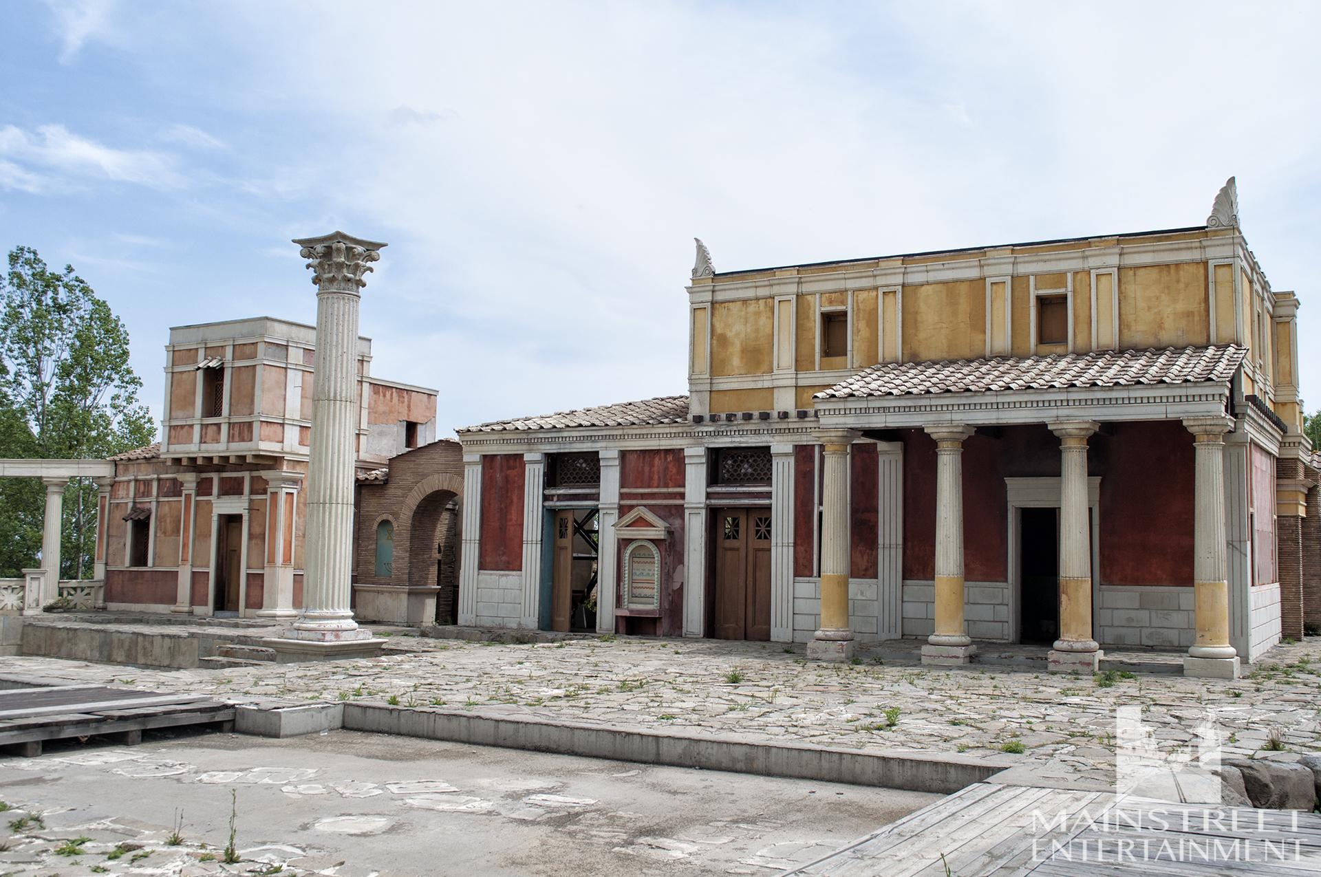 Roman thermae set
