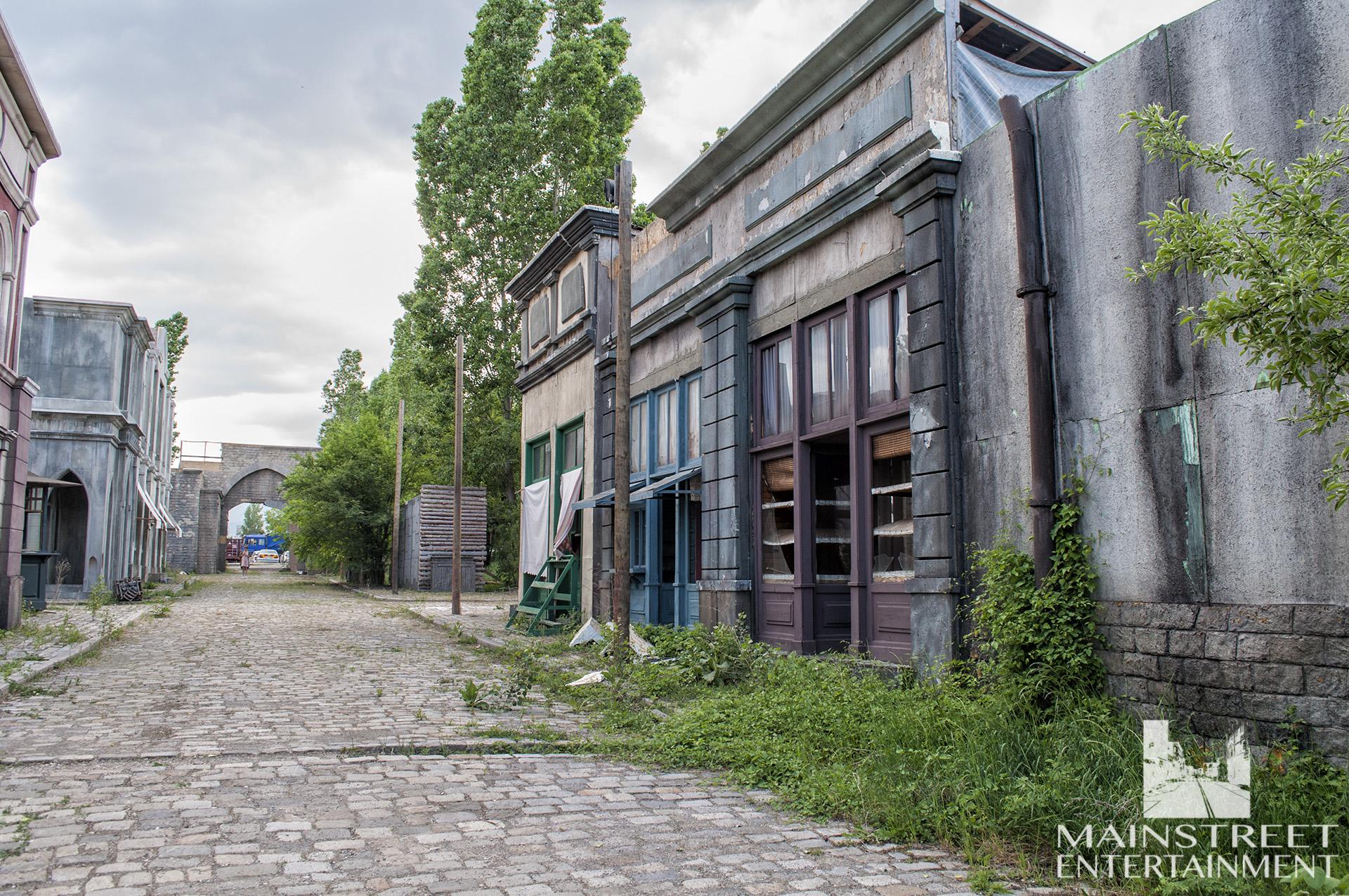 period buildings backlot set