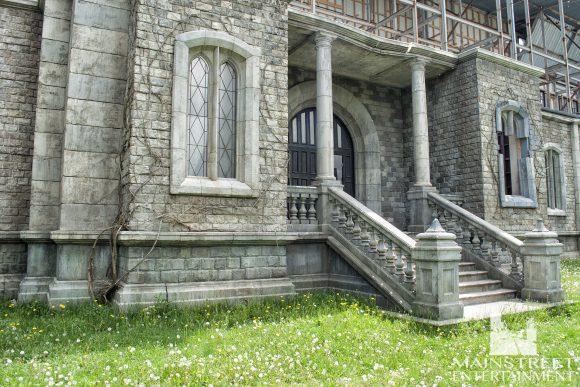 stonehearst asylum film set