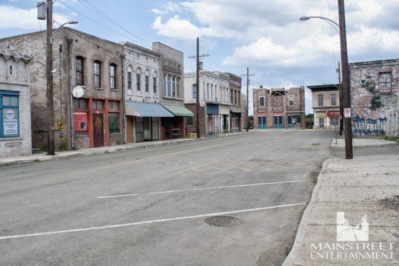 texas town film set
