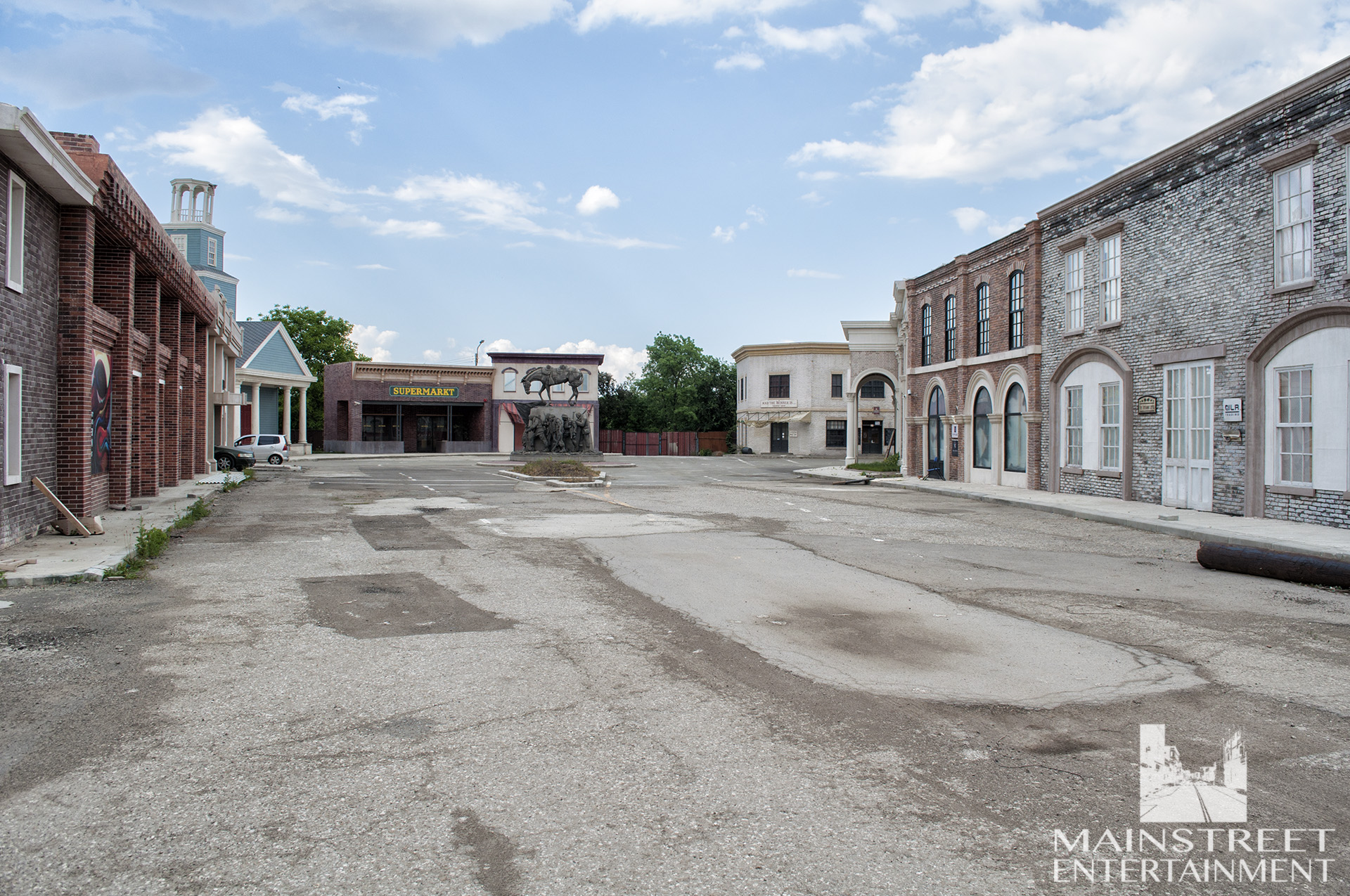 south carolina town movie set