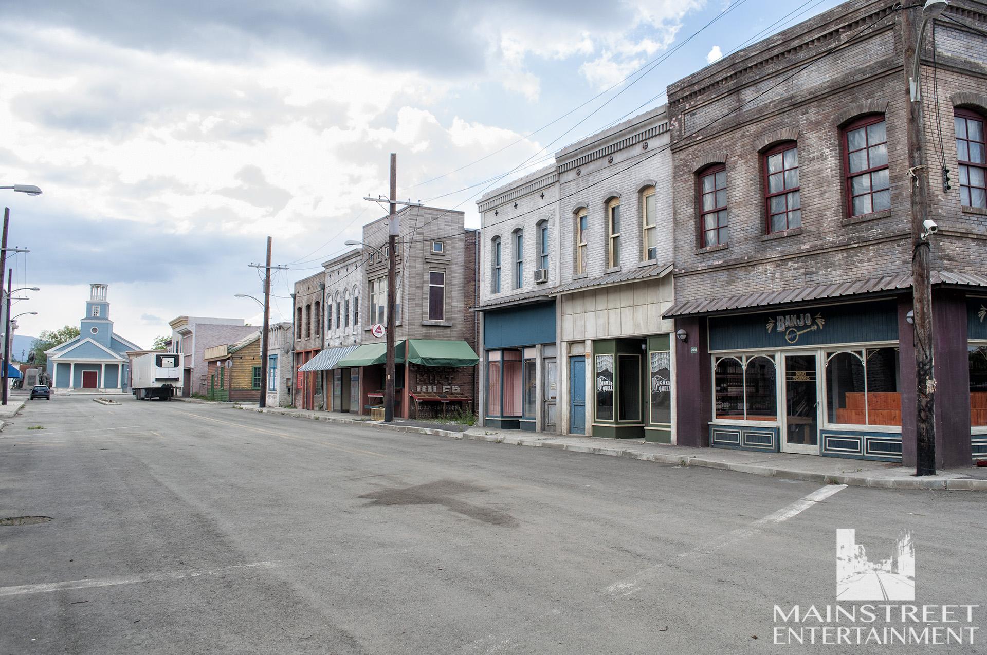 alabama town backlot set