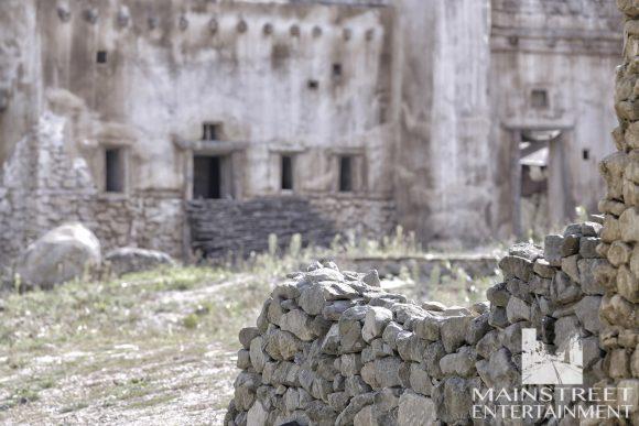 Ancient village movie set