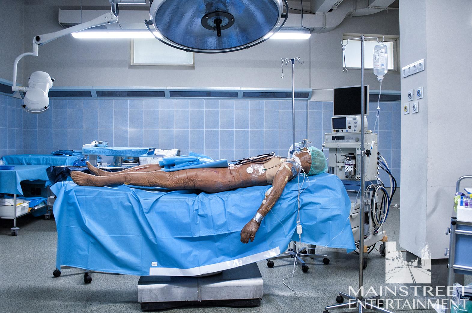 hospital film set O.R.