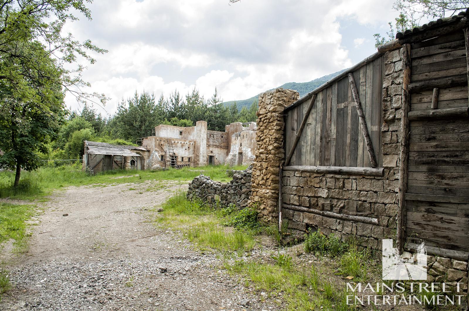 middle ages village set
